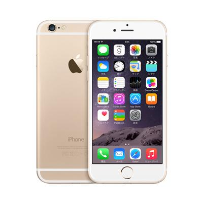 Apple au iPhone6 16GB A1586 (MG492J/A) ゴールド