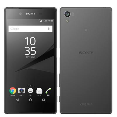 SONY SoftBank Xperia Z5 501SO Graphite Black