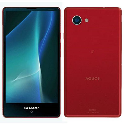 SHARP AQUOS mini SH-M03 Red【楽天版SIM フリー】
