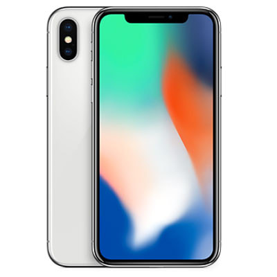 Apple iPhoneX A1902 (MQAY2J/A) 64GB  シルバー 【国内版 SIMフリー】