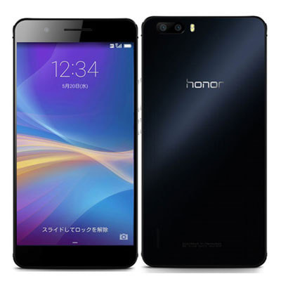 Huawei Huawei honor6 plus 32GB (PE-TL10) [Black 楽天版 SIMフリー]