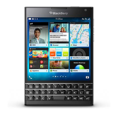 BlackBerry BlackBerry Passport SQW100-1 (RGY181LW) Piano Black【海外版 SIMフリー】