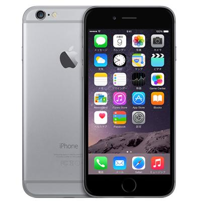 Apple SoftBank iPhone6 64GB A1586 (MG4F2J/A) スペースグレイ